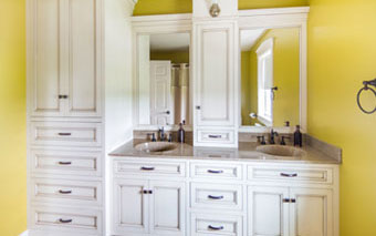 bathroom cabinetry in lancaster county