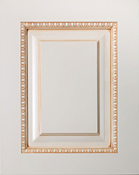 Cream Trim Specialty Panel Door PA