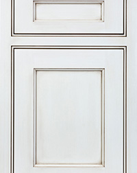 White Specialty Panel Door PA