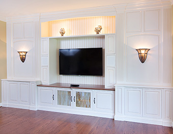 Built-In Entertainment Center PA