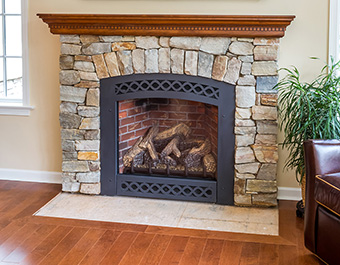 Stone Fireplace Chester County