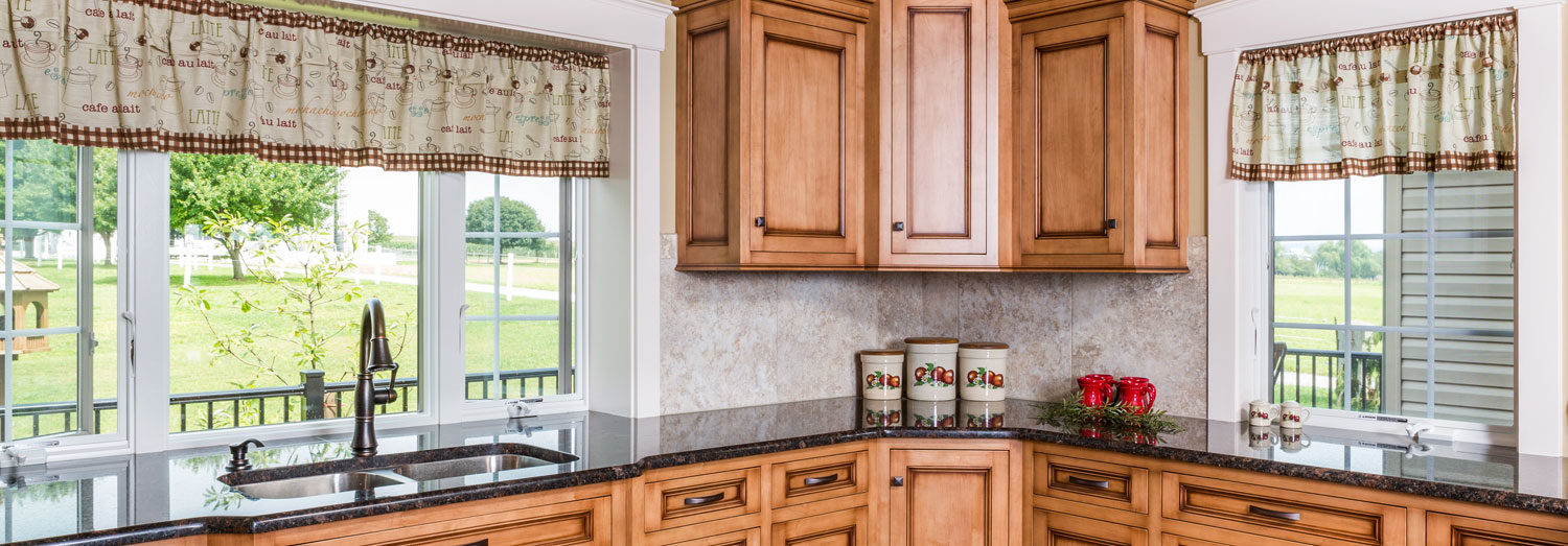 custom kitchen cabintry in lancaster county home