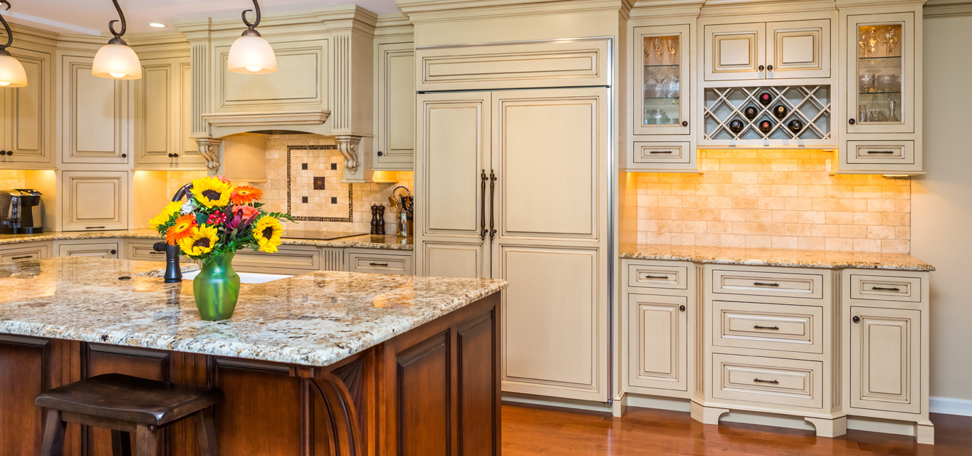 Modern kitchen cabinets kitchen remodel philadelphia for Upper end kitchen cabinets
